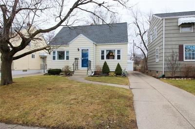 Buffalo NY Single Family Home P-Pending Sale: $134,888