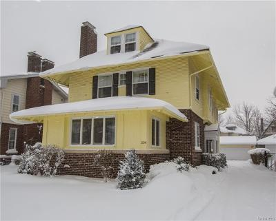 Buffalo Single Family Home A-Active: 334 Woodbridge Avenue