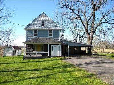 Lewiston Single Family Home A-Active: 1169 Ridge Road