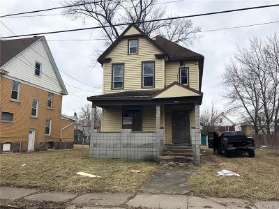 Niagara Falls Single Family Home A-Active: 1349 Whitney Avenue