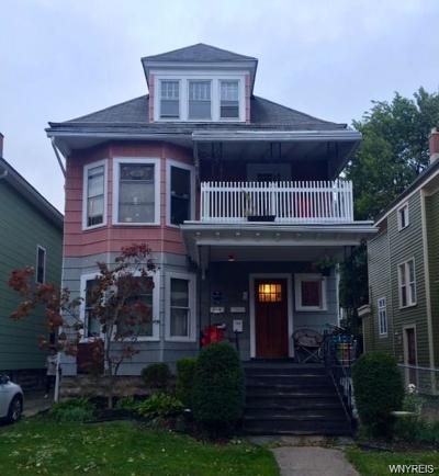 Buffalo Multi Family 2-4 P-Pending Sale: 126 Claremont Avenue #1