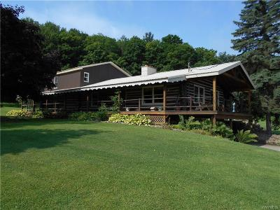 Cattaraugus County Single Family Home For Sale: 9975 Marble Road