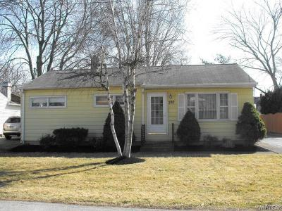 Lewiston NY Single Family Home U-Under Contract: $162,900