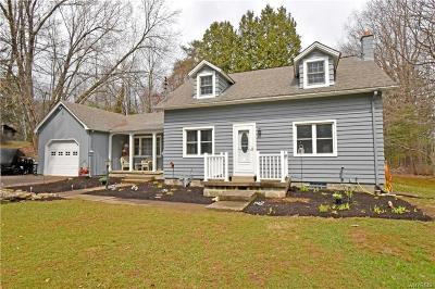 Colden Single Family Home U-Under Contract: 8736 Lower East Hill Road
