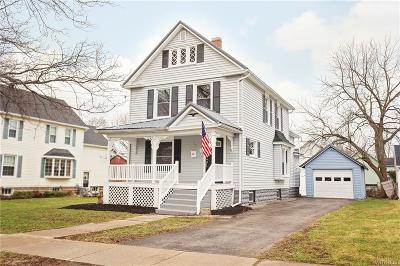 Genesee County Single Family Home C-Continue Show: 18 Bennett Avenue