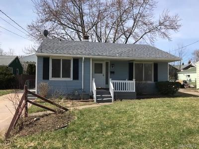 Niagara Falls Single Family Home U-Under Contract: 3750 Deveaux Street