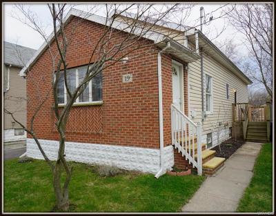 Buffalo NY Single Family Home A-Active: $127,000