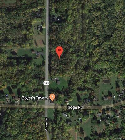 Niagara County Residential Lots & Land A-Active: 3343 Quaker Road
