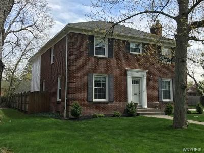 Amherst Single Family Home U-Under Contract: 264 Brantwood Road