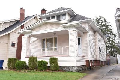 Buffalo Single Family Home A-Active: 300 Linden Avenue