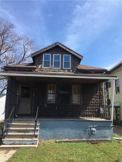 Buffalo Single Family Home A-Active: 191 Clarence Avenue