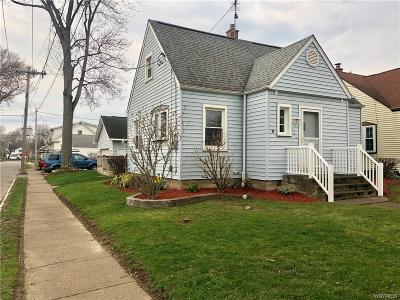 Niagara Falls NY Single Family Home A-Active: $150,000