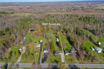 Erie County Single Family Home A-Active: 3347 Town Line Road