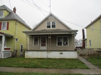 Niagara County Single Family Home A-Active: 2493 Whitney Avenue