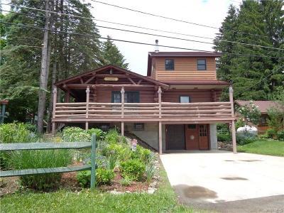 Java Single Family Home For Sale: 5416 Java Lake Road
