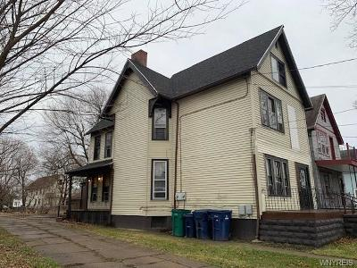 Buffalo NY Multi Family 2-4 A-Active: $79,900