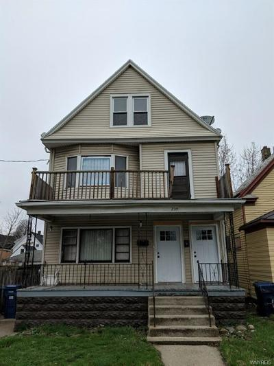 Buffalo NY Multi Family 2-4 A-Active: $80,000