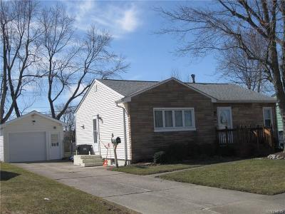 Buffalo NY Single Family Home A-Active: $118,900