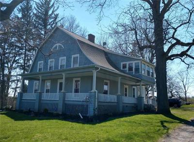 Castile Single Family Home A-Active: 5082 Middle Reservation Road