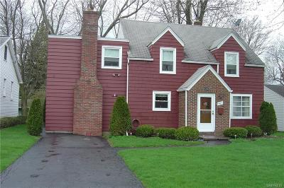 Williamsville Single Family Home Active Under Contract: 63 Oakland Road