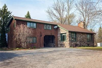Orleans County Single Family Home U-Under Contract: 11077 Roosevelt Highway