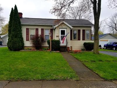 Genesee County Single Family Home U-Under Contract: 27 North Street