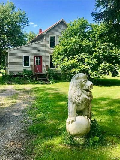 Genesee County Single Family Home U-Under Contract: 4213 Cookson Road