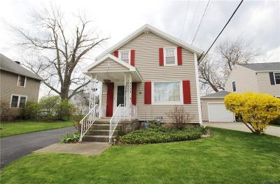 Buffalo NY Single Family Home P-Pending Sale: $119,888