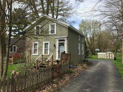 Orchard Park Single Family Home U-Under Contract: 6857 Webster Rd