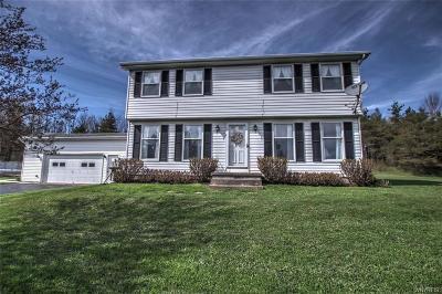Attica Single Family Home A-Active: 2785 Buffalo Street Road