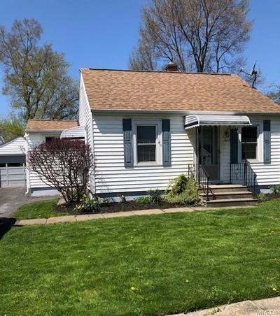 North Tonawanda Single Family Home For Sale: 1052 Nash Road