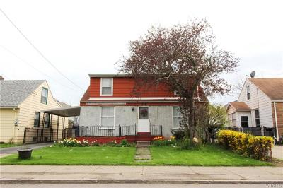 Buffalo NY Single Family Home U-Under Contract: $103,888