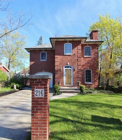 Williamsville Single Family Home For Sale: 216 California Drive