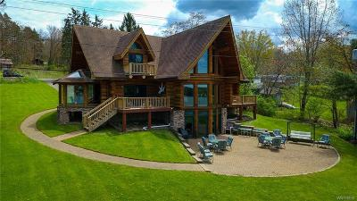 Allegany County, Cattaraugus County Single Family Home A-Active: 8585 Sunset Drive