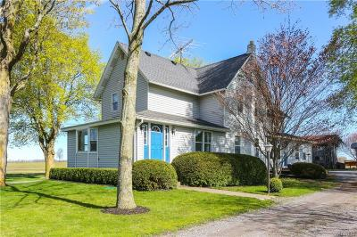 Genesee County Single Family Home A-Active: 1673 Phelps Road