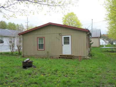 Castile Single Family Home For Sale: 6744 Sunset Road