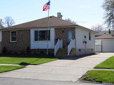 Cheektowaga Single Family Home A-Active: 62 Colette Avenue
