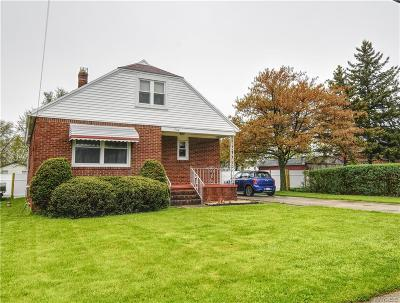 Lackawanna Single Family Home U-Under Contract: 736 Willet Road