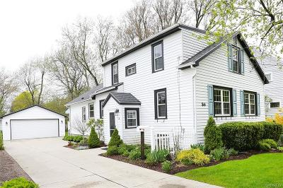 Amherst Single Family Home A-Active: 84 Fruehauf Avenue