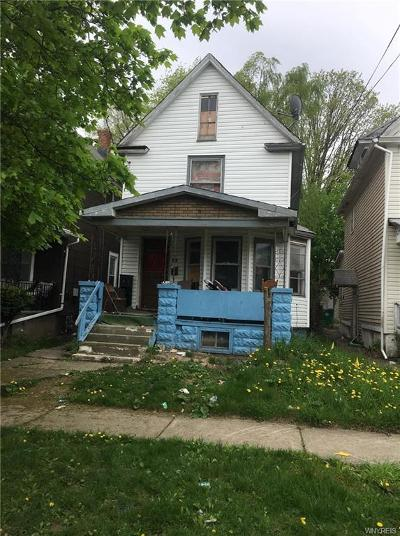 Niagara Falls Single Family Home For Sale: 462 20th Street