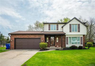 West Seneca Single Family Home U-Under Contract: 37 Colonial Manor Court