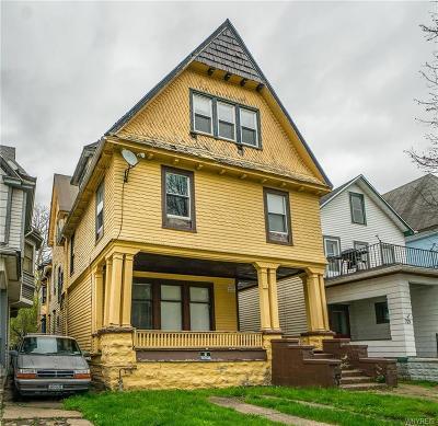 Buffalo Multi Family 2-4 U-Under Contract: 723 Prospect Avenue