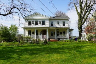 Erie County Single Family Home A-Active: 7796 Milestrip Road