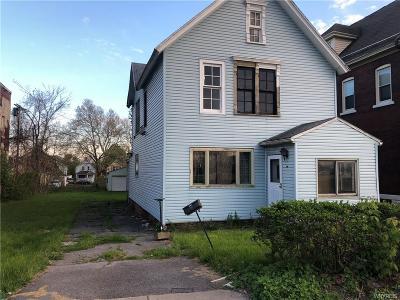 Buffalo NY Single Family Home A-Active: $59,000