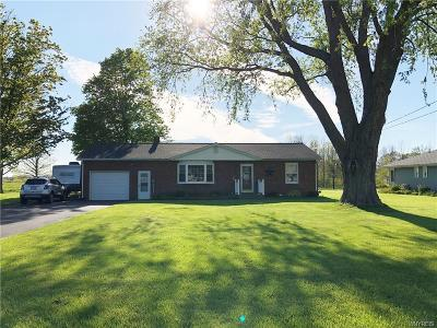 Single Family Home For Sale: 3782 Ransomville Road
