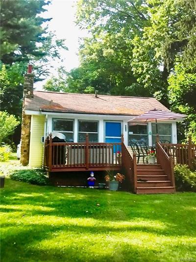 Castile Single Family Home For Sale: 4057 Private Drive 2