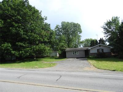 Perry Single Family Home For Sale: 6176 Oatka Road