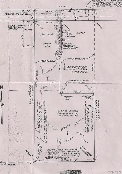 Grand Island Residential Lots & Land A-Active: Vl Whitehaven Rd S