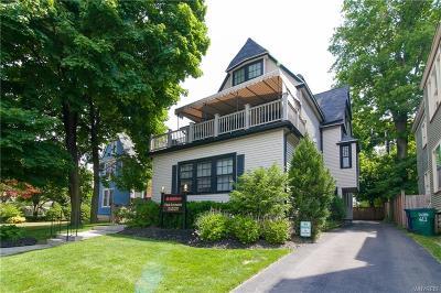 Buffalo Single Family Home For Sale: 615 Elmwood Avenue