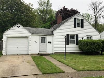 Niagara Falls Single Family Home Pending: 1079 85th Street